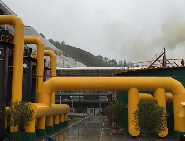厂房天然气管道安装工程