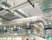 懿龙为我们设计施工的通风排气系统效果十分理想